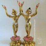 paint gaurnitai deities