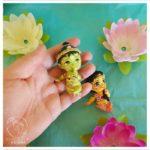 palm sized lord rama doll