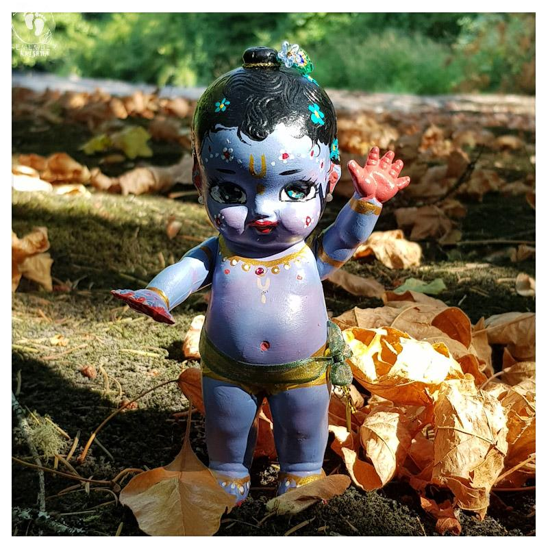 Krishna doll the ranchor arms move