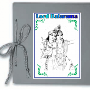 Children's pocket folder project about Lord Balarama. In this project children will create a wonderful folder of work to learn and display. Includes: make your own book, puzzles, writing skills, craft and colouring pages plus lots of short stories. Most suited for children 8 to 12 years.