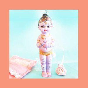 Childs 1st Deities of Krishna