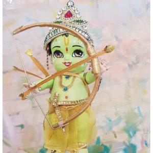 Rama - Sita - Hanuman dolls