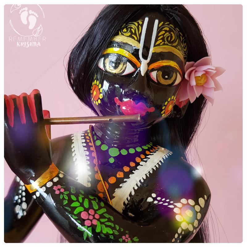 Lotus Flower Accessory Remember Krishna