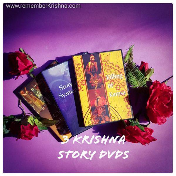 Krishna story dvd 3 pack