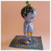 carpet rug minature for krsna doll with doll standing on rug